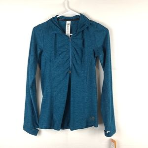 New Balance Teal Quarter Zip Pullover Size XS